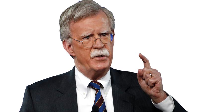 بولتون: إيران هي الممول المركزي للإرهاب الدولي.  أ.ب
