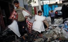 الصورة: إسرائيل وأميركا تناوران لإفراغ القضية الفلسطينية من مضمونها السياسي