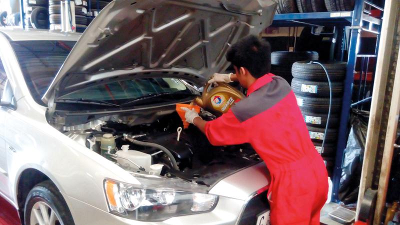 وزارة الاقتصاد تقوم بتحديث وتصنيف ورش السيارات بالتعاون مع هيئات عدة. الإمارات اليوم