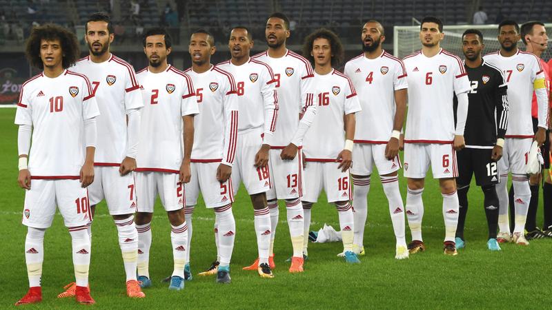 المنتخب الوطني يستعد لخوض غمار بطولة كأس آسيا على أرضه وبين جمهور. تصوير: أسامة أبوغانم