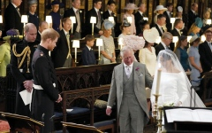 الصورة: الأمير تشارلز: ماركل هي أفضل ما حدث في حياة ابني هاري