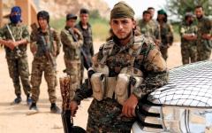 الصورة: «قسد» تخوض معركة «مصيرية» ضد «داعش» شرق سورية