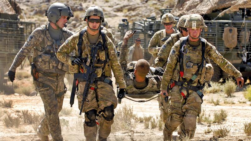 أميركا زادت عدد قواتها في أفغانستان إلى نحو 14 ألفاً بعد أن تولى ترامب منصبه في يناير 2017.  أرشيفية