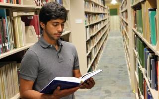 الصورة: الزعابي ضمن قائمة المتفوقين في جامعة ولاية بنسلفانيا