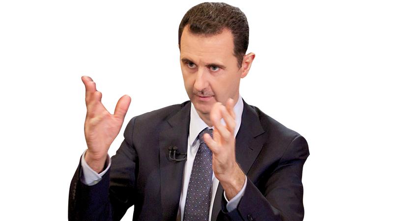 كفة الحرب رجحت لمصلحة بشار الأسد نتيجة التدخل القوي للجيش الروسي. أ.ف.ب