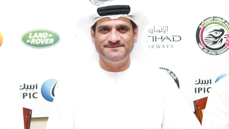 يوسف البطران : عضو مجلس إدارة اتحاد الجوجيتسو
