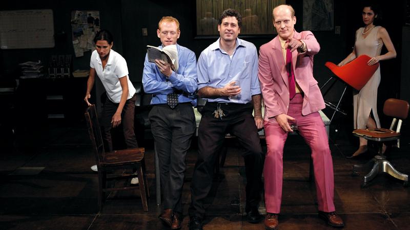 جانب من مسرحية «جاتز» الحاصلة على جوائز عالمية عدة. من المصدر