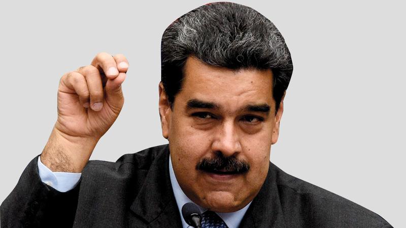 مادورو قال إن مثل تلك الوجبة تعتبر فرصة تحدث مرة واحدة في العمر. أرشيفية
