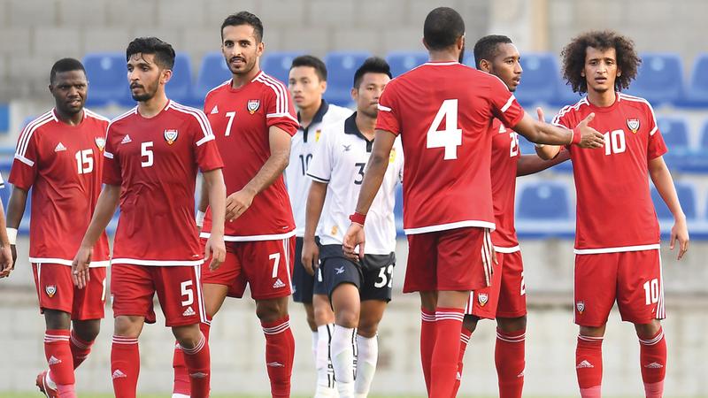المنتخب يواجه هندوراس وفنزويلا في أكتوبر المقبل استعداداً لكأس آسيا. تصوير: أسامة أبوغانم
