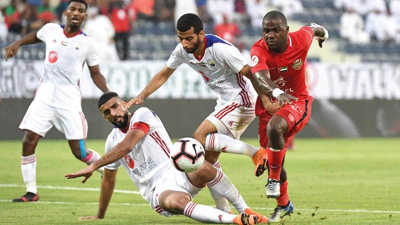 شباب الأهلي فقد 6 نقاط منذ انطلاق الدوري. تصوير: أسامة أبوغانم