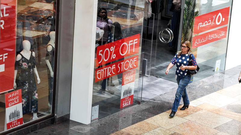 اقتصادية دبي أكدت أنه يتوجب حل شكوى المستهلك وإغلاقها في وقت أقصاه 4 أيام عمل. تصوير: أشوك فيرما