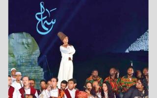 الصورة: مهرجان «سماع» للإنشاد في مصر.. «رسالة سلام»