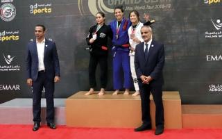الصورة: 45 ميدالية لـ «جوجيتسو الإمارات» في لوس أنجلوس