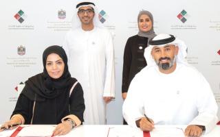 الصورة: 25 %من مقاعد «قيادات حكومة الإمارات» للمواطنين العاملين في القطاع الخاص