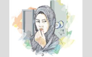 الصورة: تغريم زوجة 3000 درهم بتهمة إتلاف باب منزل زوجها