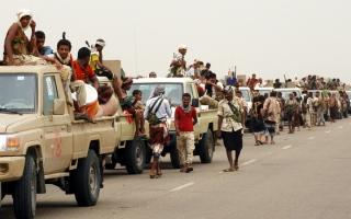 الصورة: الجيش اليمني يحرر مواقع استـــراتيجية جديدة في البيضاء وحجة