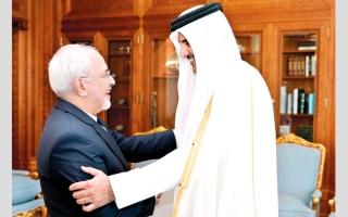 الصورة: عجز قطر عن الاستجابة لمطالب إيران يُعجِّل بنهاية «التحالف المشؤوم»