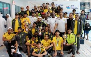 الصورة: 11 رقما قياسياً في كأس الإمارات للسباحة