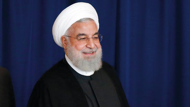 روحاني يقوم بحملة دبلوماسية صعبة في الأمم المتحدة. إي.بي.إيه