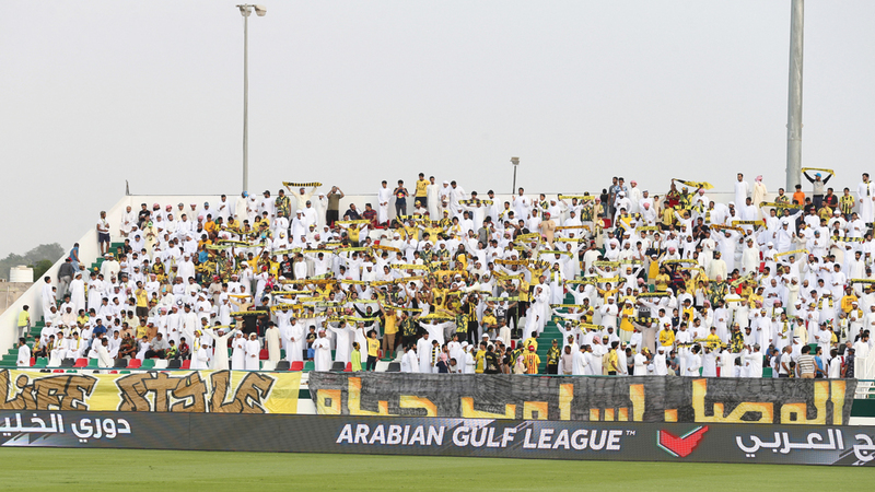 جمهور الوصل يؤازر فريقه في كل البطولات. الإمارات اليوم
