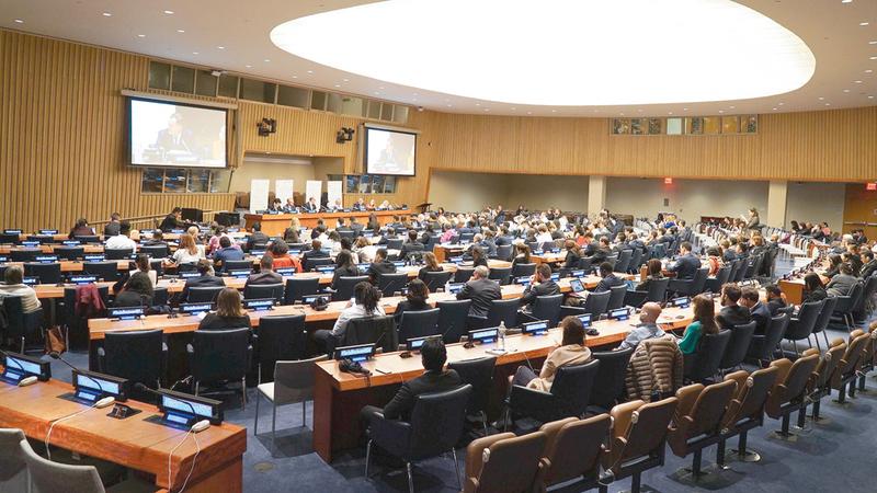 منظمات وجهات دولية وإقليمية قدمت تقارير خاصة بها حول واقع المرأة والتحديات والفرص  المتعلقة بذلك.  من المصدر
