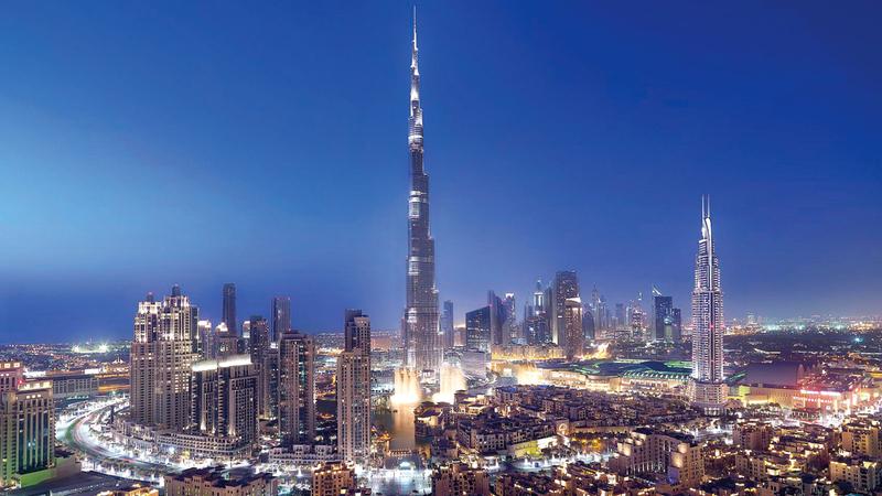 دبي تقطع خطوات سريعة وواثقة لتعزيز مكانتها الناشئة على الخريطة الرقمية العالمية. أرشيفية