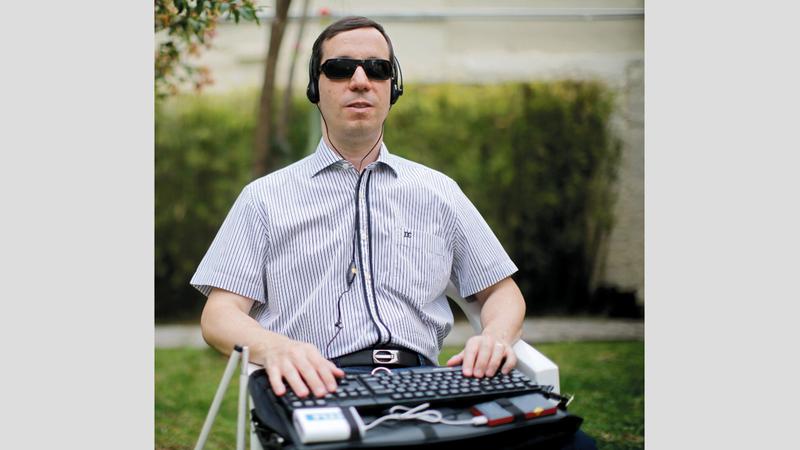 مشروع «F123» يمكّن أصحاب الإعاقات البصرية من التمتع باستقلالية أكبر في حياتهم اليومية. من المصدر