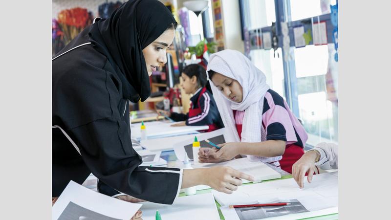 يعمل المكتب الثقافي على توسعة نطاق الاستفادة من المبادرة في مدارس الدولة. من المصدر