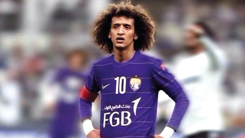 عمر عبدالرحمن:  «العين وإدارته  وجماهيره في القلب  أعتذر لهم عن أي  إساءة».