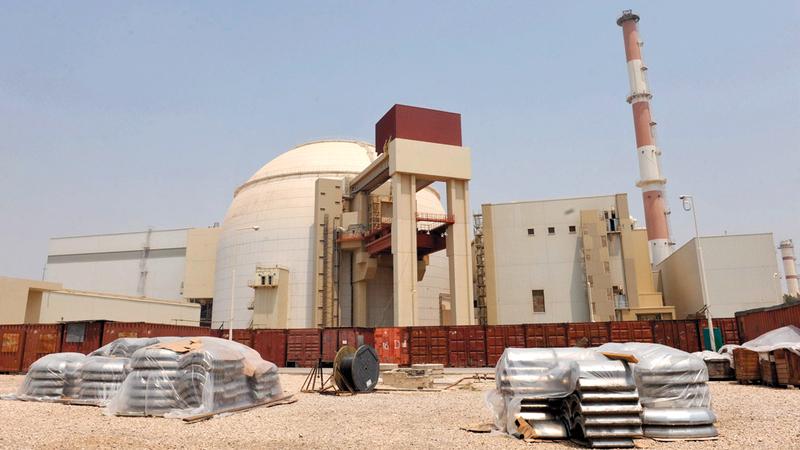 «سي.آي.إيه» سعت إلى تجفيف الكوادر العلمية النووية العاملة في مفاعل بوشهر في إيران. غيتي