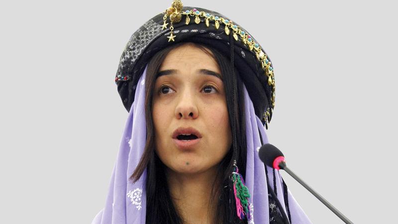 نادية مراد.. من الاستعباد الجنسي إلى «نوبل للسلام».  أ.ب