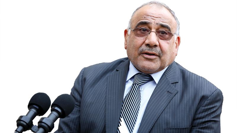 عبدالمهدي أمامه 30 يوماً لتشكيل الحكومة. أ.ب