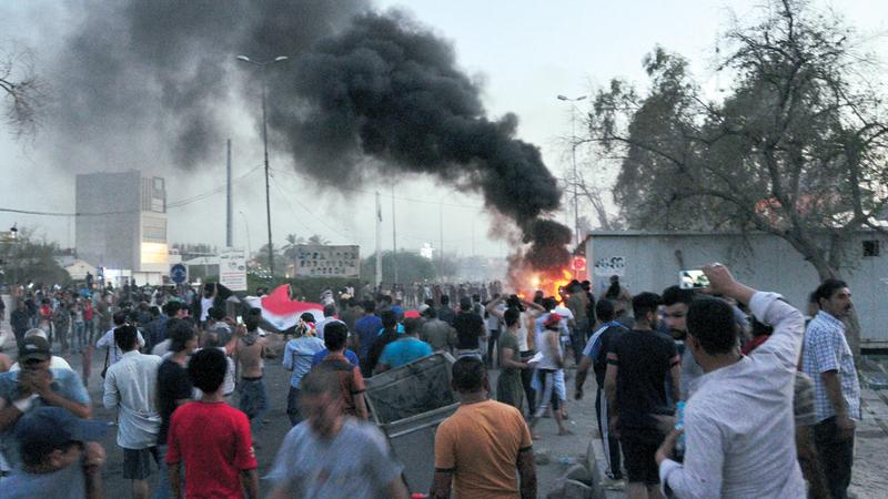 أحداث البصرة تعد تجسيدا لأزمة العراق المستفحلة.  رويترز