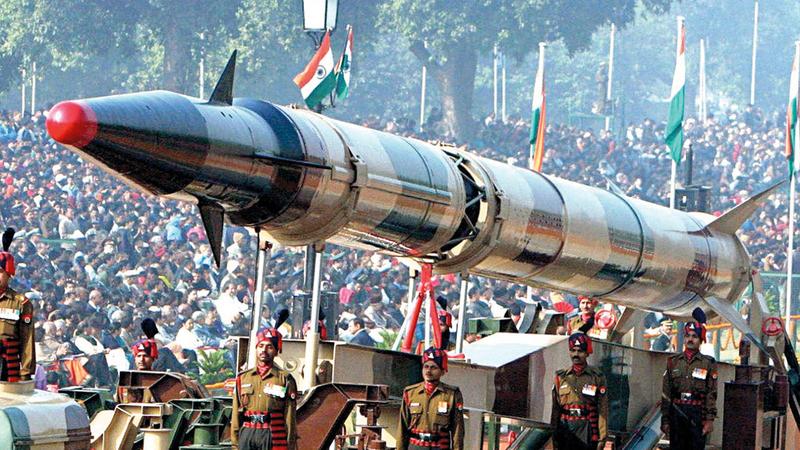تطوير السلاح النووي أولوية هندية لامتلاك خيار الردع  في منطقة مضطربة.  أرشيفية