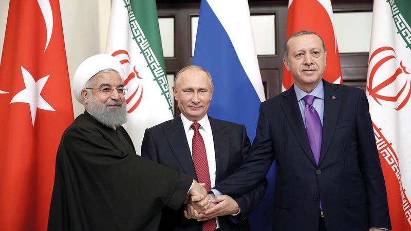 بوتين اتفق مع تركيا في حل إدلب وتجاهل إيران.  أرشيفية