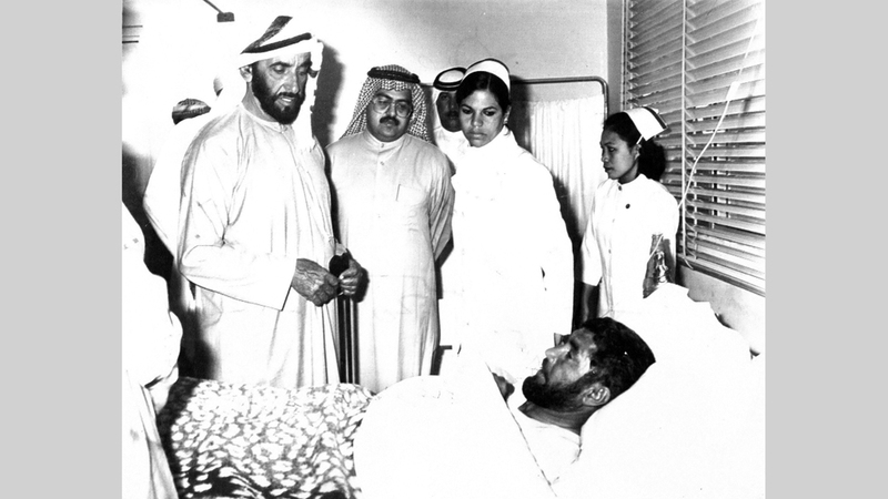 الشيخ زايد أولى تنمية الإنسان أهمية كبرى. أرشيفية