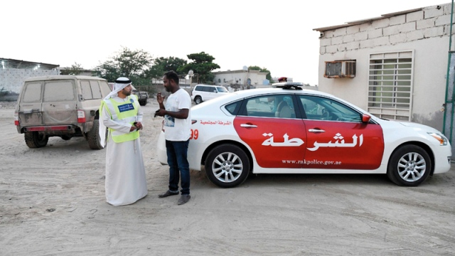 An abandoned vehicle reveals a runaway crime in Ras Al Khaimah - Teller Report