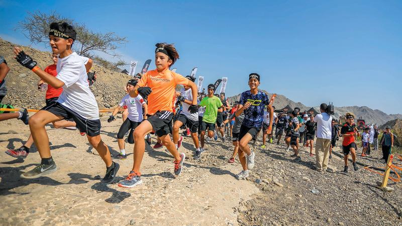 نسخة السباق الماضية شارك فيها آلاف المتسابقين من الكبار والصغار. من المصدر