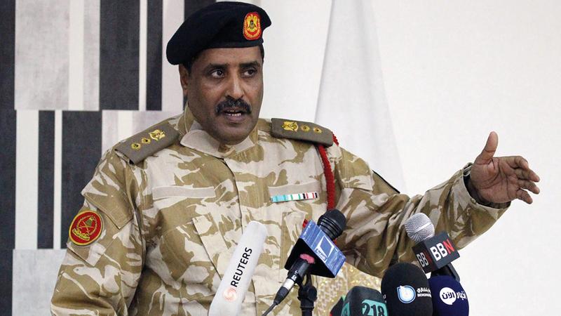 المسماري أعلن خبر اعتقال العشماوي. أرشيفية