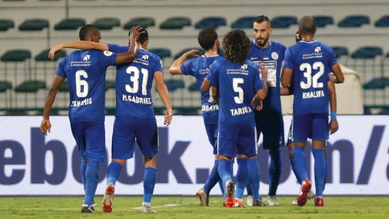 النصر يأمل التعافي سريعاً في دوري الخليج العربي. تصوير: مصطفى قاسمي