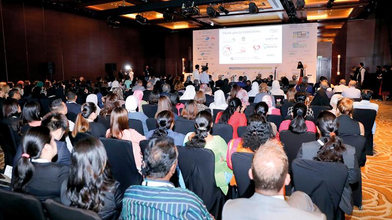 مشاركون في المؤتمر أكدوا أن نمط الحياة غير الصحي وراء أمراض سرطانية. من المصدر