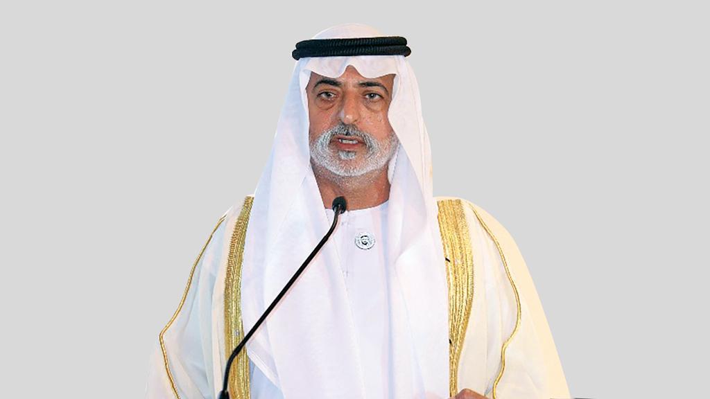 نهيان بن مبارك آل نهيان: «رؤية الإمارات في مجال الرعاية الصحية تركز على أهمية المعلومات والمبادرات الرامية إلى تثقيف العامة وتوعيتهم حول الوقاية والطب الحياتي».