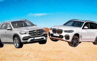 الصورة: «مرسيدس GLE450» تُزاحم «BMW X5»  عـلى قمّة هرم «المتعدّدة الاستــخدامات» الهجينة
