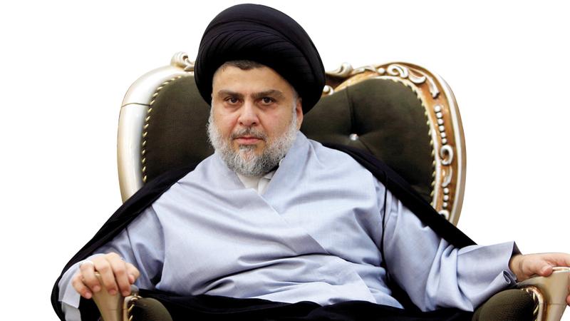 الصدر قال إنه لن يتسلم أحد من كتلته أي مناصب وزارية. رويترز