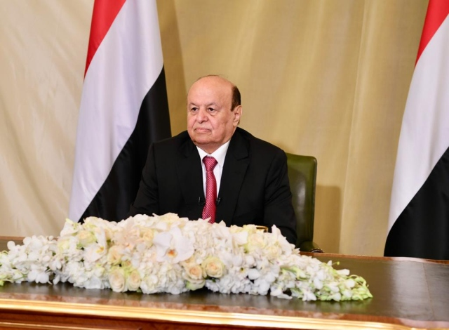 Hadi: Iran is an obstacle to the success of the Gulf