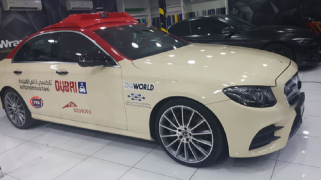 Dubai Roads is piloting the first self-contained taxi at GITEX 2018