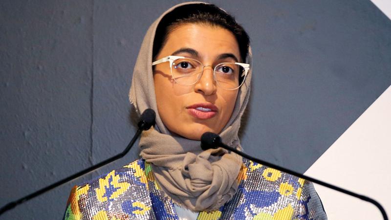 نورة الكعبي:  «الأسبوع الثقافي  أسّس مسارات  جديدة من التعاون  الإبداعي بين الإمارات  وفرنسا».