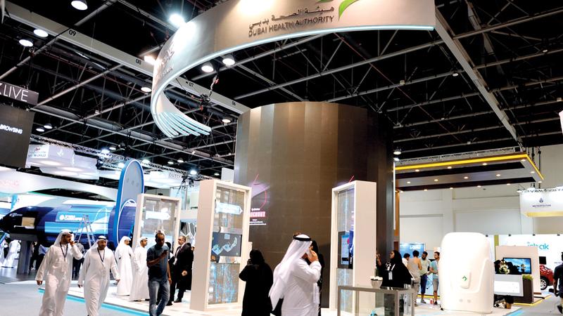 «صحة دبي»: التطبيق يوفر خارطة دقيقة وتفصيلية  لعمل الهيئة ومنشآتها.  من المصدر