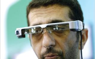 الصورة: نظارة لرصد المطلوبين خلال التغطية الأمنية للفعاليات