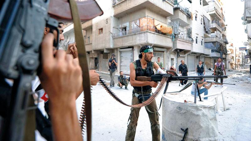 سورية تعيش حرباً منذ أكثر من 7 سنوات.  أرشيفية